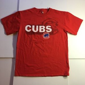 Chicago Cubs Red T-Shirt (Medium)